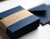 Navy (mini) 2 3/4 x 2 3/4 Square Envelope 25/Pk