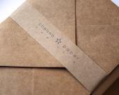 Natural Kraft A2 Envelopes 25/Pk