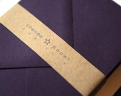 Eggplant A7 Envelopes 25/Pk