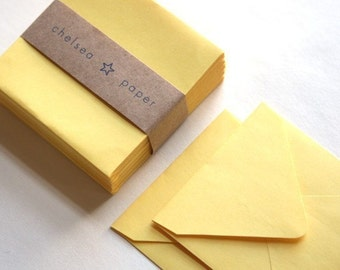 Lemon Drop (mini) 2 3/4 x 2 3/4 Square Envelope 25/Pk