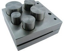 Large Disc Cutter 1/2 to 1 Inch  - Five Punches SALE