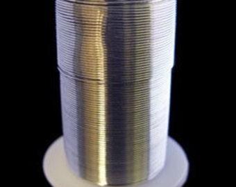 Tarnish Resistant Wire Silver Color 22ga 20yd Spool