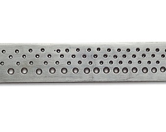 Metal Drawplate Round 82 Holes  0.12 to 2.5mm
