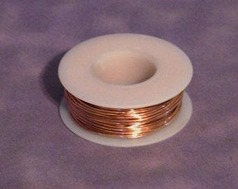 Copper Wire round 18ga 1.02mm 1/4lb Coil