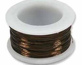 24GA Beadsmith Vintage Bronze Non Tarnish Wire 20 YD