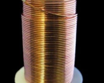 Tarnish Resistant Wire Copper Color 24ga 30yd Spool