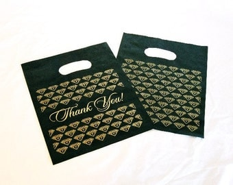 """Multipurpose Gift Or Shopping Handle Bags """"Thank You"""" PKG 100 SALE SALE"""