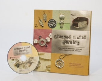Stamped Metal Jewelry Instructional DVD And Book