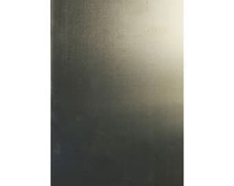 "Nickel Silver Sheet 26ga 6"" x 12"" 0.41mm Thick"
