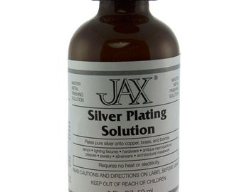 Silver Plating Solution 2oz By Jax