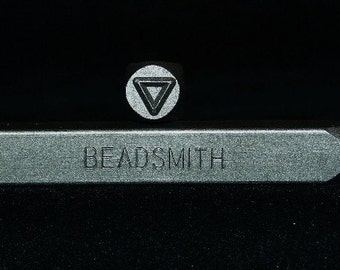 Metal Design Stamp By Beadsmith 6mm Triangle