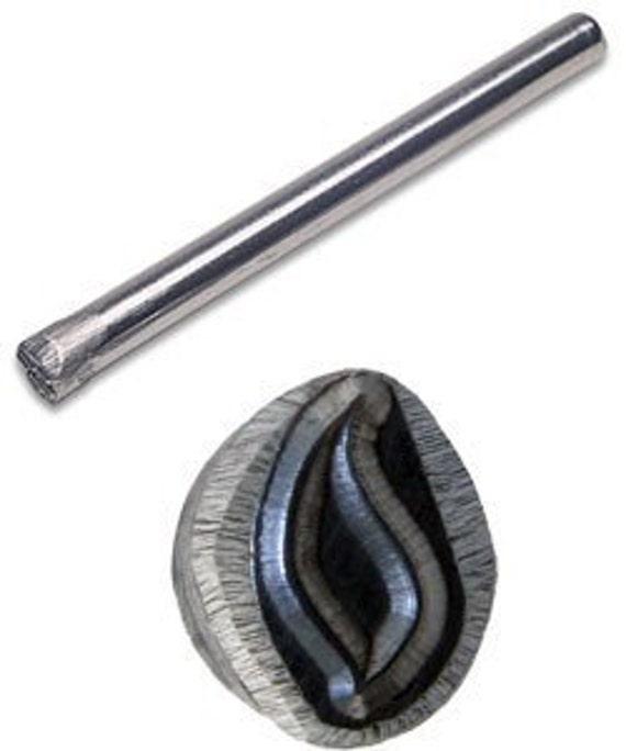 Jewelers Or Metal Worker Design Stamp Flame Number 104
