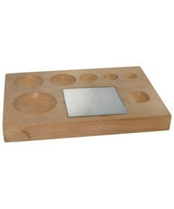 Seven Round Groove Shape Block With Stell Block SALE SALE SALE