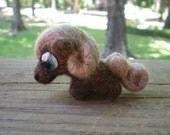 Amber - The Wee Felted Pony