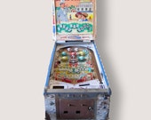 RESERVED for ICONICUSA / Vintage Early 1960's River Boat Pinball Machine by Williams /Palm Springs, CA / Pickup or Local Delivery