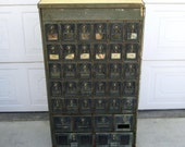 RESERVED / Antique Post Office Box / Vintage Multiple Box Post Office Unit, Pick up in Palm Springs, CA