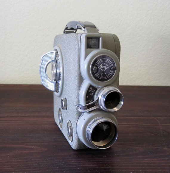 Vintage Eumig 8mm Movie Camera / Retro Home Movie Camera