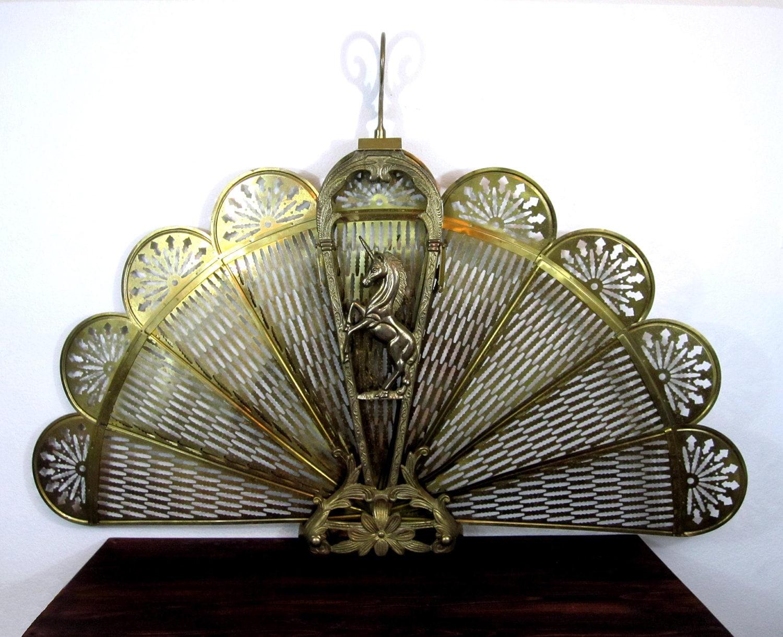 Brass Fireplace Screen