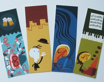 Bookmarks pack 3