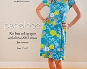Penelope Knit Dress and Top Modkid Sewing Patten