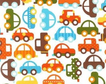 Ready Set Go Bermuda Cars Ann Kelle Designs Robert Kaufman Fabric