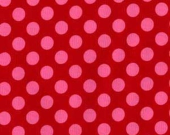 Ta Dot Berry Polka Dot Michael Miller Fabric