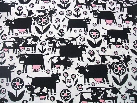 Alexander Henry Fabric Park & Moo Cow Half yard cut