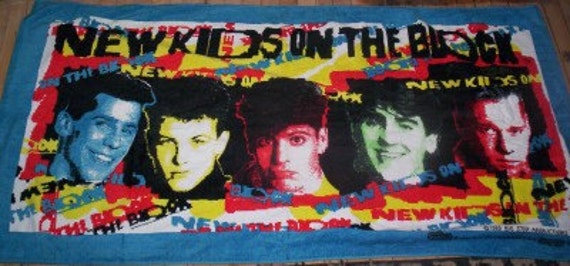 New Kids On The Block Beach Towel Brand New Condition