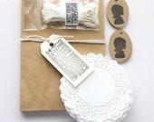 silhouette packaging kit .