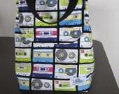 Designer Lunch Bag - Mixed Tape