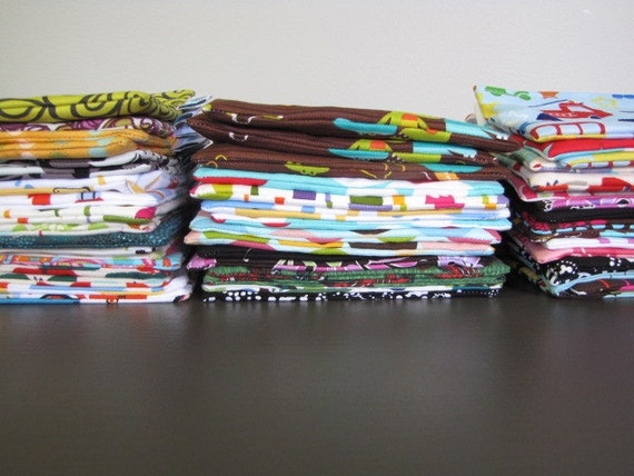 Stock Up and Save - FREE SHIPPING on any THREE sets of Snack-Loc Bags, You Choose the Fabrics