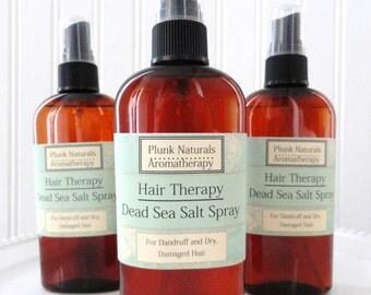 Hair Therapy Dead Sea Salt Spray for Dry, Dandruff, or Itchy Scalp 8 oz