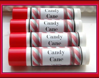 Candy Cane  Lip Balm