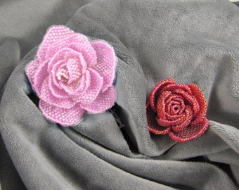 Old-World Roses - beading pattern for download PDF tutorial