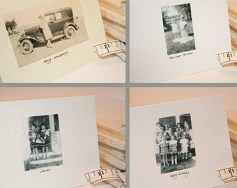 Vintage Photo Note Cards Variety Package