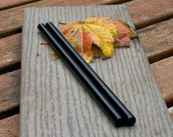 Limited Edition Black  Eco Drinking Straws - Set of Two