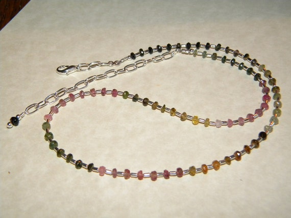 Tourmaline  Necklace  - Chasing Lights