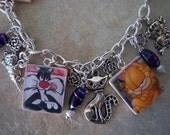 Here Kitty Kitty Charm Bracelet