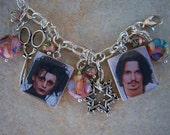 Johnny Depp Charm Bracelet