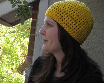 Crochet Hat, Custom Made For You, You Choose Color, Adult Size