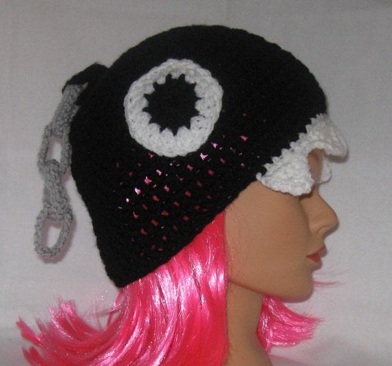 Chain Chomp Crochet Hat, Adult Size, HALLOWEEN orders no longer taken
