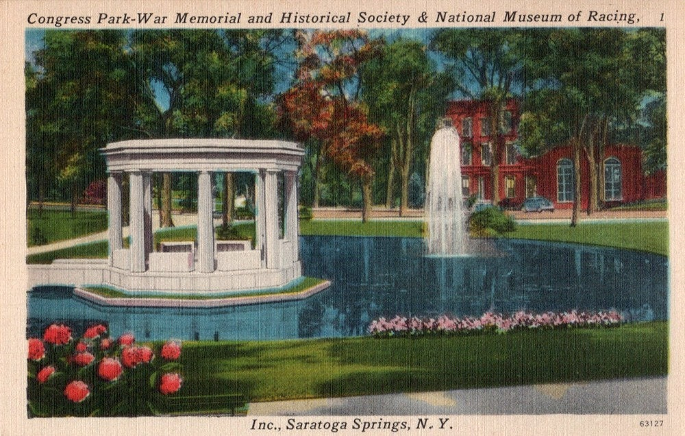 Congress Park is located along Broadway in the charming little town of Saratoga Springs, NY. Saratoga Springs is rich in history with it's mineral water springs, soothing mineral baths, world-renowned horse racing track, and a number of casinos which were once the famous haunts of New York City socialites and gangsters/5(25).