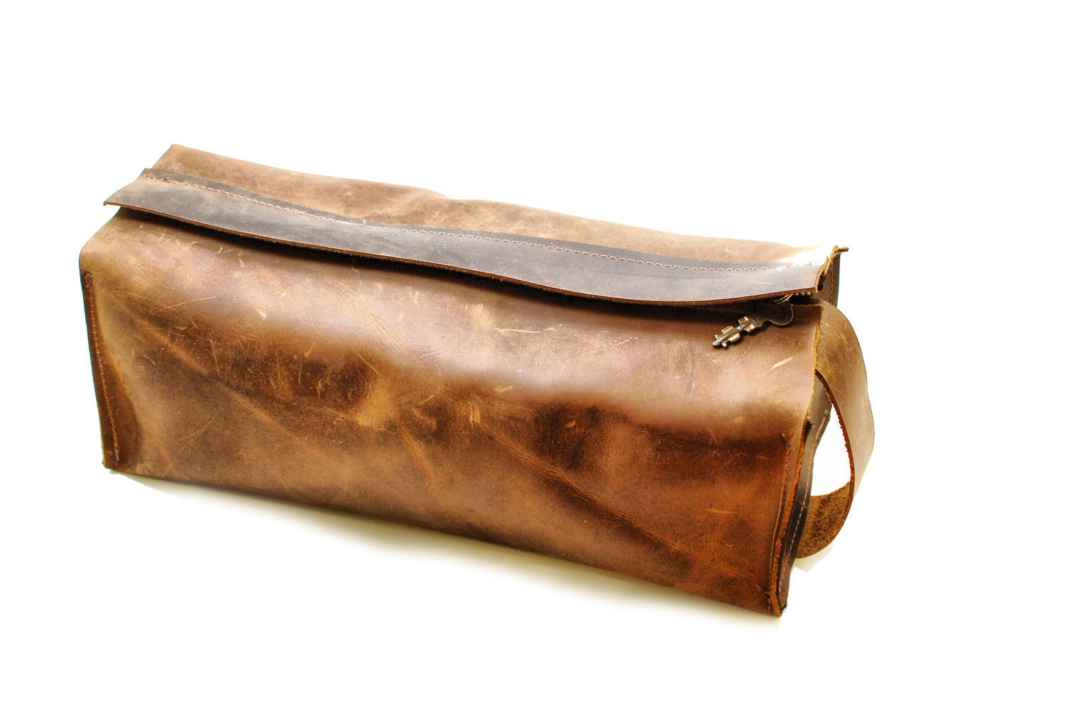 zoom. Men s Toiletry Bag Leather Toiletry DOPP Kit