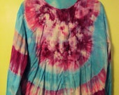 Feeling Free Long Sleeved Peasant Blouse- To Dye for Tie Dyes