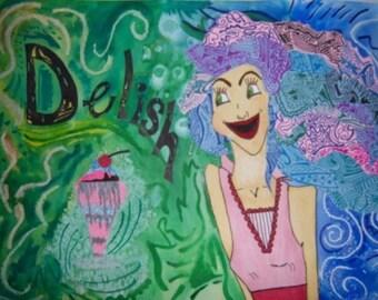Jocie's Pop Art- Delish