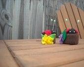 Ladybug Pincushion Eco friendly -Free Shipping