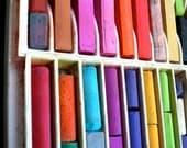 Vintage Box of Pastel Sticks