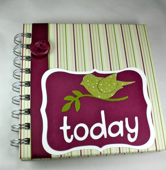 Pregnancy journal baby memory book diary or by tricia designs