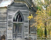 Old Wooden Church 3 - Old Church - Photographic Print - Landscape Photography