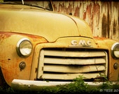 Old Jimmy - Classic GMC Truck Photo - Old Truck Photo - Vintage Truck